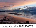 Peaceful Sunset Colorful Sky...