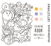 Coloring Book Antistress With...