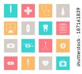 vector illustration of medical...   Shutterstock .eps vector #187161839