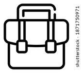 portfolio briefcase icon....