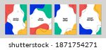 abstract universal cover... | Shutterstock .eps vector #1871754271