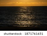 Sunset On Black Sea. View Of...