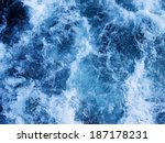 Splashing Water Waves Shot Fro...