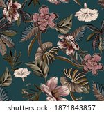 Ethnic Vintage Flowers And...