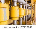 production line in oil and gas... | Shutterstock . vector #187198241