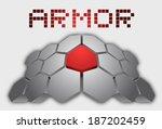 hard armor   Shutterstock .eps vector #187202459