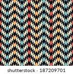 seamless  vector rhombus... | Shutterstock .eps vector #187209701