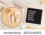 Rethink  Reduce  Refill  Reuse  ...