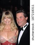 Small photo of Goldie Hawn and Kurt Russell at AMMI TRIBUTE TO MEL GIBSON, NY 3/7/2002