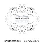 vector drawing with... | Shutterstock .eps vector #187228871