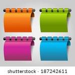modern infographics  vector  ... | Shutterstock .eps vector #187242611