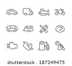 Simple Set Of Auto Related...
