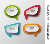 vector banners set  | Shutterstock .eps vector #187251941