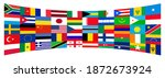 background flags of the world | Shutterstock . vector #1872673924