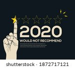 low customer star rating review ...   Shutterstock .eps vector #1872717121