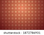 traditional seamless pattern... | Shutterstock .eps vector #1872786931