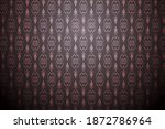 traditional seamless pattern... | Shutterstock .eps vector #1872786964