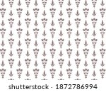 traditional seamless pattern... | Shutterstock .eps vector #1872786994