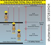 calculating of total fall...   Shutterstock .eps vector #1872810424