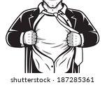 black and white comic male...