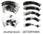 flat fan brush thin curved... | Shutterstock .eps vector #1872894484