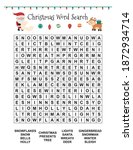 christmas word search for... | Shutterstock .eps vector #1872934714
