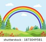 vector flat illustration of... | Shutterstock .eps vector #1873049581