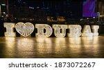 dubai  dubai uae   12 12 2020 ...   Shutterstock . vector #1873072267