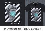 graphic t shirt design ... | Shutterstock .eps vector #1873124614