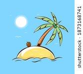 Small Island Cartoon...