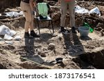 Archaeologists Working On...