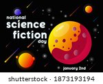 national science fiction day....   Shutterstock .eps vector #1873193194