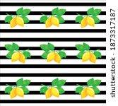 illustration juicy yellow... | Shutterstock .eps vector #1873317187