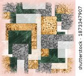 Paisley Pattern On Polka Dot...