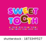vector bright emblem sweet... | Shutterstock .eps vector #1873349527