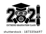 extreme graduation class of...   Shutterstock .eps vector #1873356697