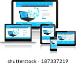 this image is a vector file... | Shutterstock .eps vector #187337219