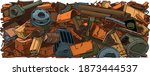 Metal Recycling Background....
