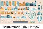 City Buildings Variation Vector ...