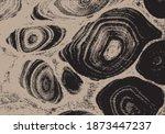 beautiful stone  silhouette...   Shutterstock .eps vector #1873447237