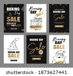 boxing day sale banner design...   Shutterstock .eps vector #1873627441