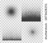 stipple halftone gradients....   Shutterstock .eps vector #1873628251