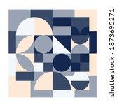 geometry minimalistic artwork... | Shutterstock .eps vector #1873695271