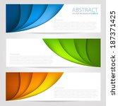 Curve Paper Background Multi...