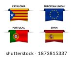 Set Of Four Catalonia  European ...