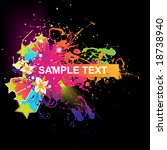 abstract vector illustration... | Shutterstock .eps vector #18738940