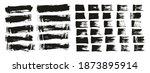 flat sponge thin artist brush... | Shutterstock .eps vector #1873895914