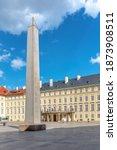 Prague Castle Obelisk  Or...