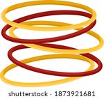 Red And Yellow Bangles ...