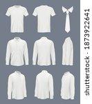 business shirt for men. male... | Shutterstock .eps vector #1873922641